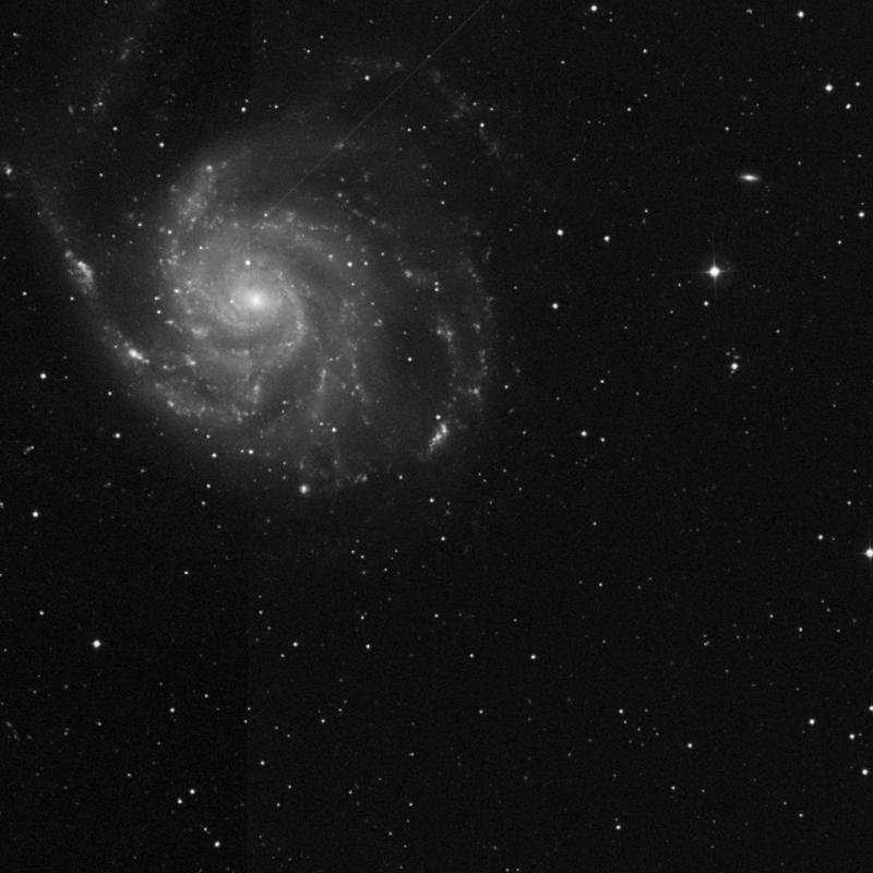 Image of NGC 5450 - HII Ionized region in Ursa Major star