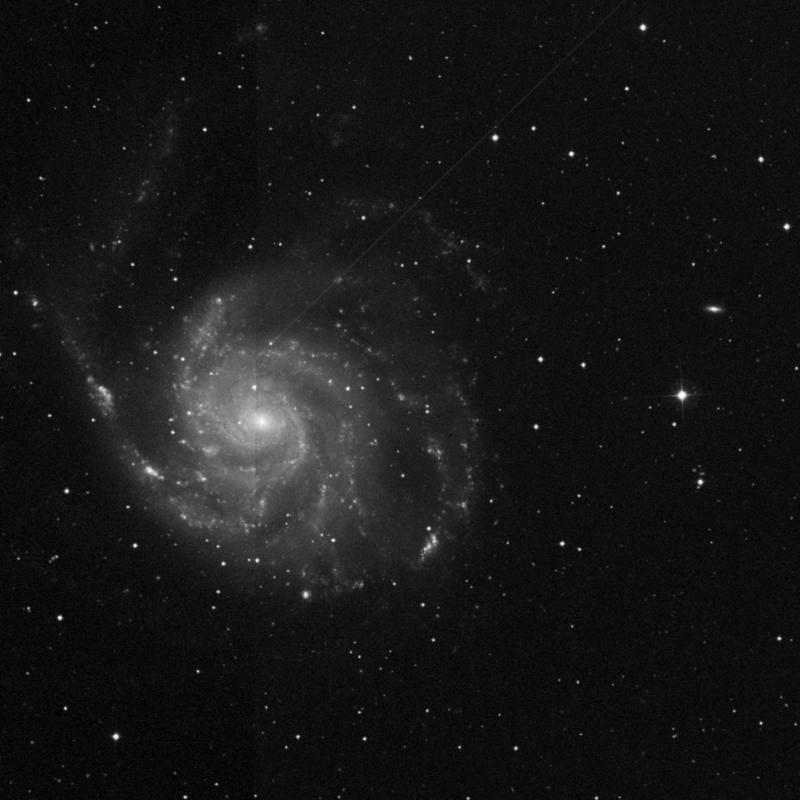 Image of NGC 5451 - HII Ionized region in Ursa Major star