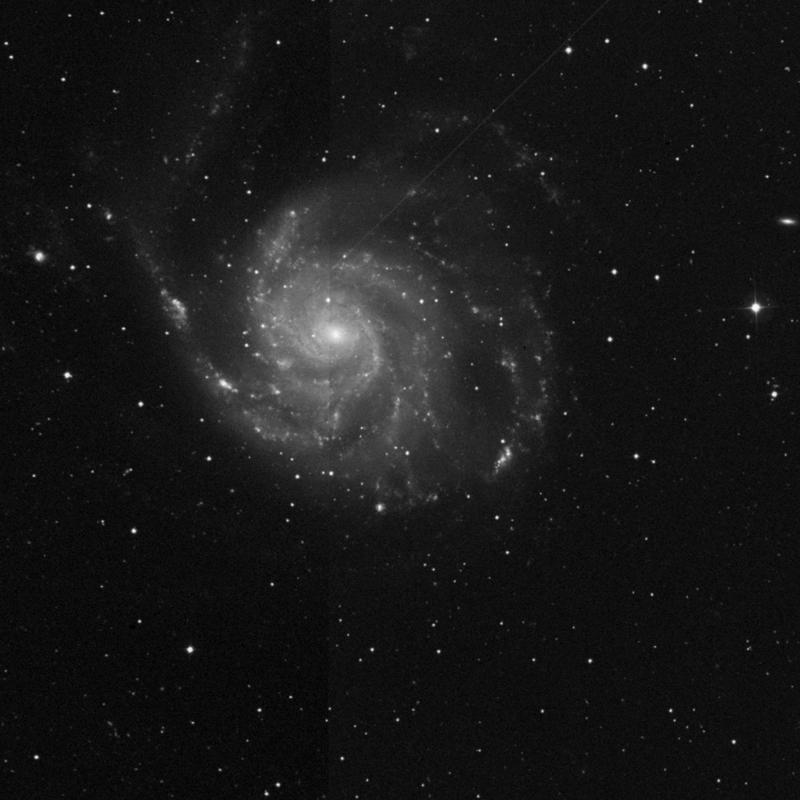 Image of NGC 5453 - HII Ionized region in Ursa Major star