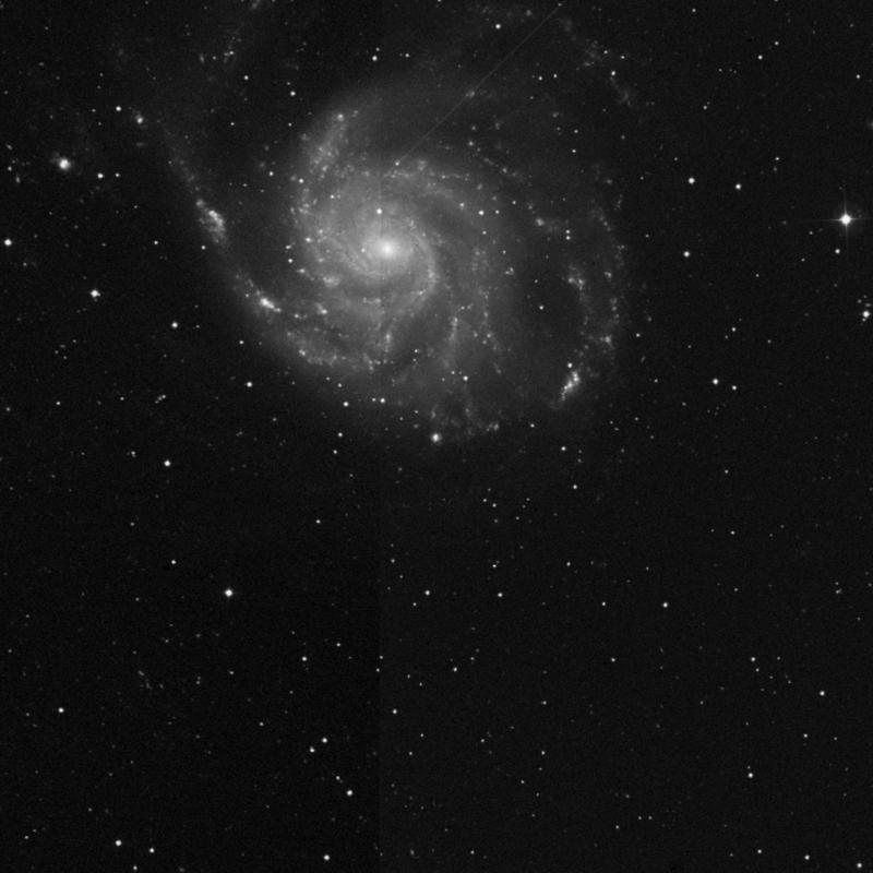 Image of NGC 5455 - HII Ionized region in Ursa Major star