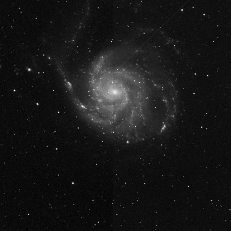 Image of NGC 5458 - HII Ionized region in Ursa Major star