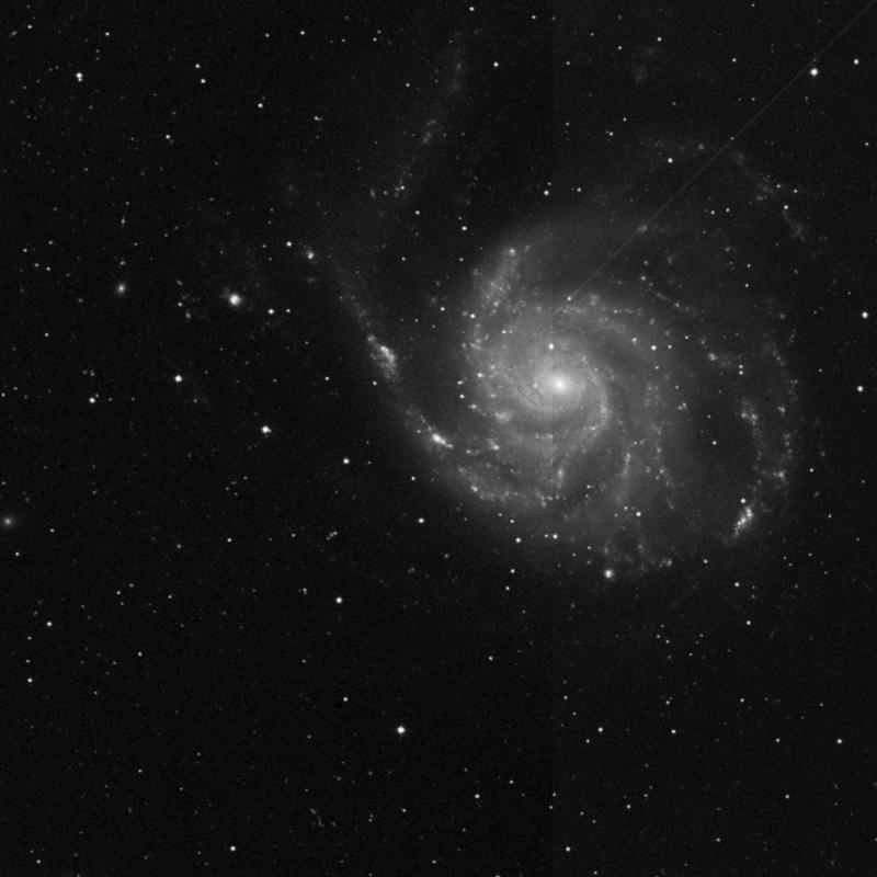 Image of NGC 5461 - HII Ionized region in Ursa Major star