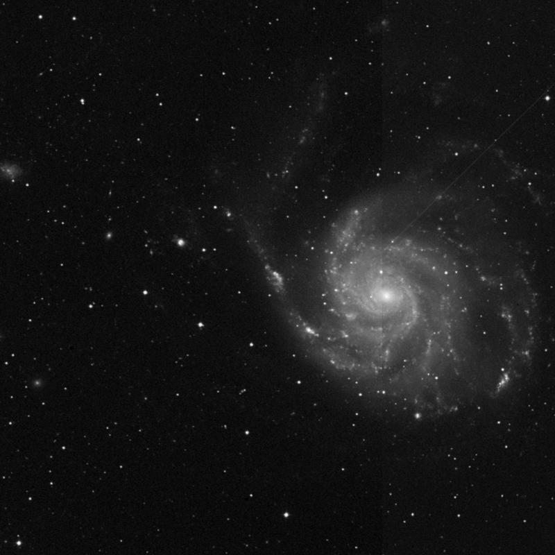 Image of NGC 5462 - HII Ionized region in Ursa Major star
