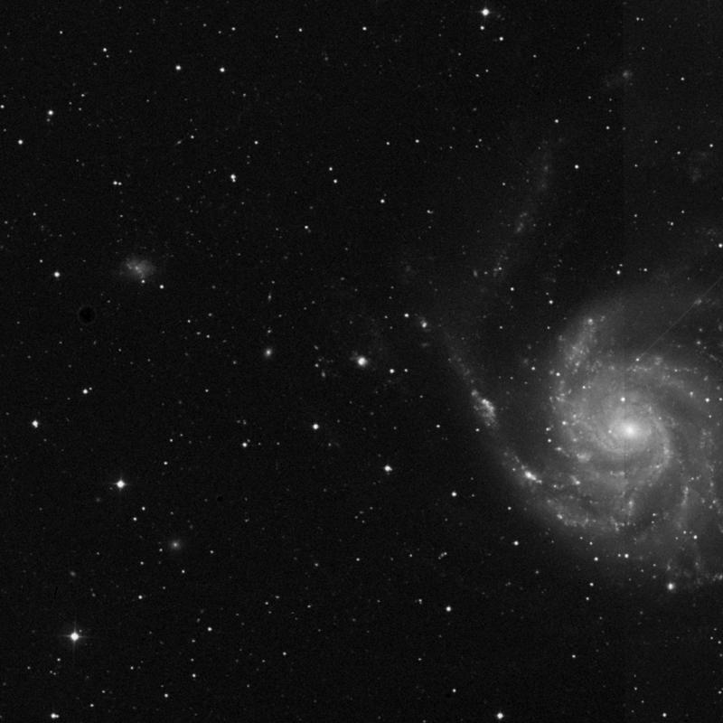 Image of NGC 5471 - HII Ionized region in Ursa Major star