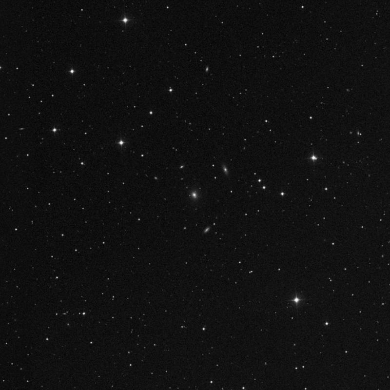 Image of NGC 5540 - Elliptical Galaxy in Ursa Major star
