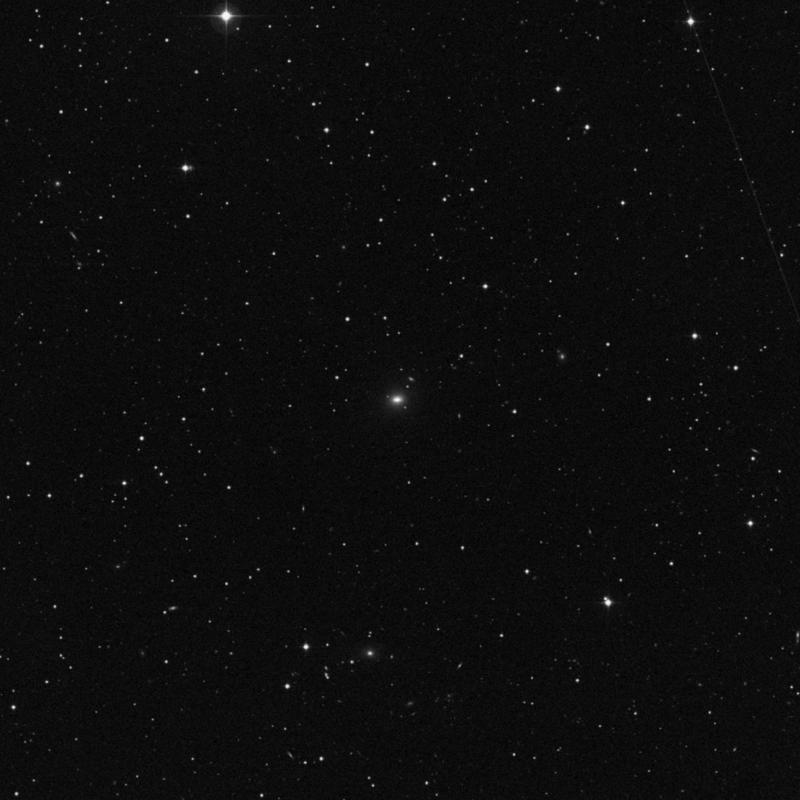 Image of NGC 5575 - Lenticular Galaxy in Virgo star