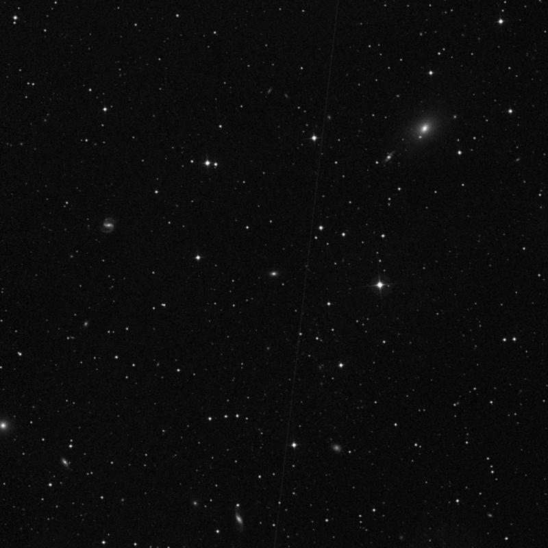 Image of IC 1187 - Spiral Galaxy in Ursa Minor star