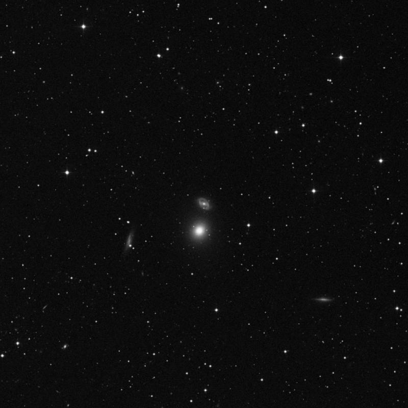 Image of NGC 5636 - Lenticular Galaxy in Virgo star