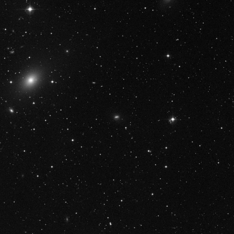 Image of NGC 5811 - Galaxy Pair in Virgo star