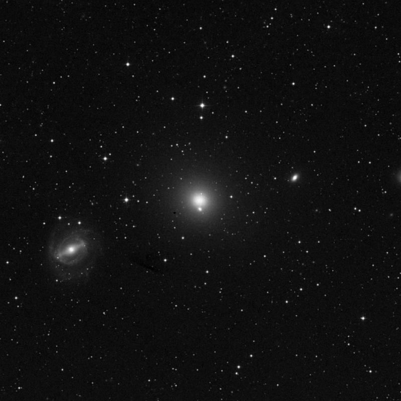 Image of NGC 5846 - Elliptical Galaxy in Virgo star