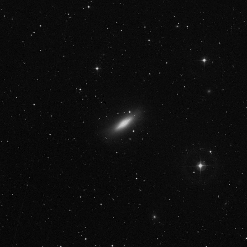 Image of NGC 5866 (Spindle Galaxy) - Lenticular Galaxy in Draco star