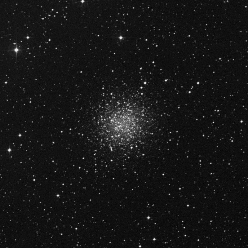 Image of NGC 5897 - Globular Cluster in Libra star
