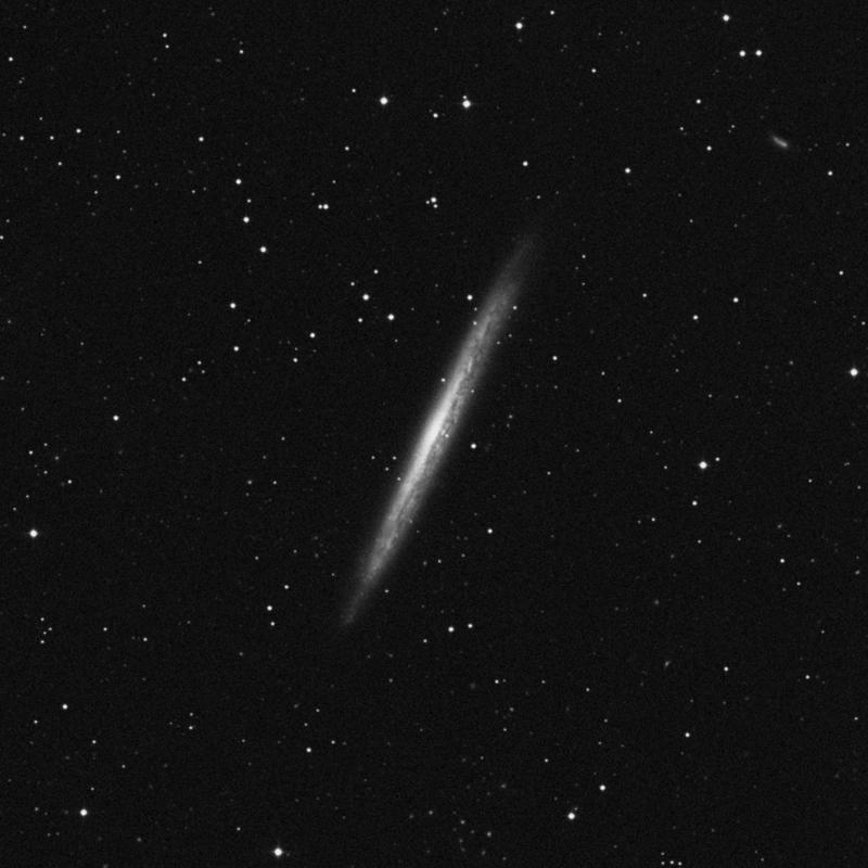 Image of NGC 5907 - Intermediate Spiral Galaxy in Draco star