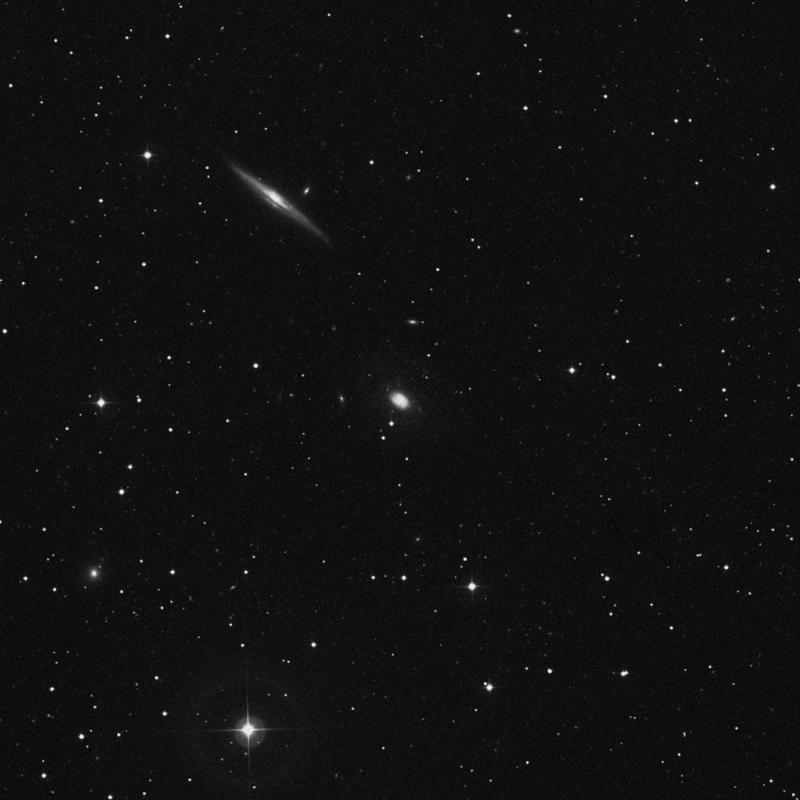 Image of NGC 5963 - Intermediate Spiral Galaxy star