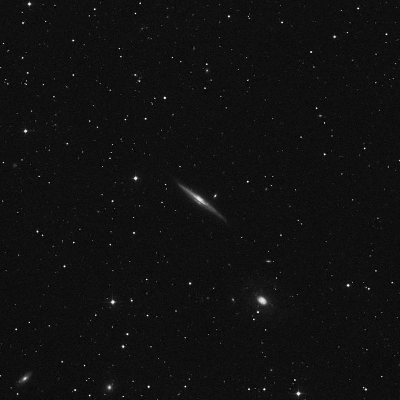 Image of NGC 5965 - Intermediate Spiral Galaxy in Draco star