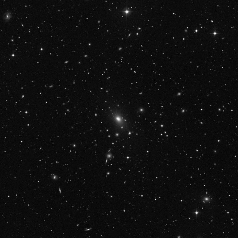 Image of NGC 6166 - Elliptical Galaxy star
