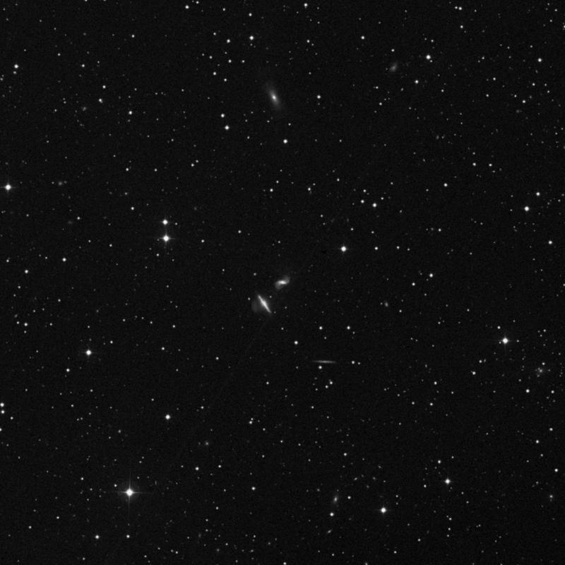 Image of NGC 6285 - Lenticular Galaxy in Draco star