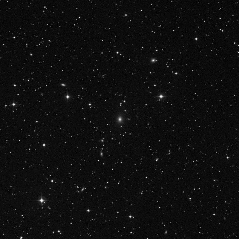 Image of NGC 6454 - Elliptical Galaxy in Draco star