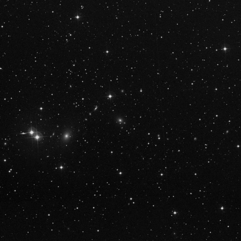 Image of NGC 6512 - Elliptical Galaxy in Draco star