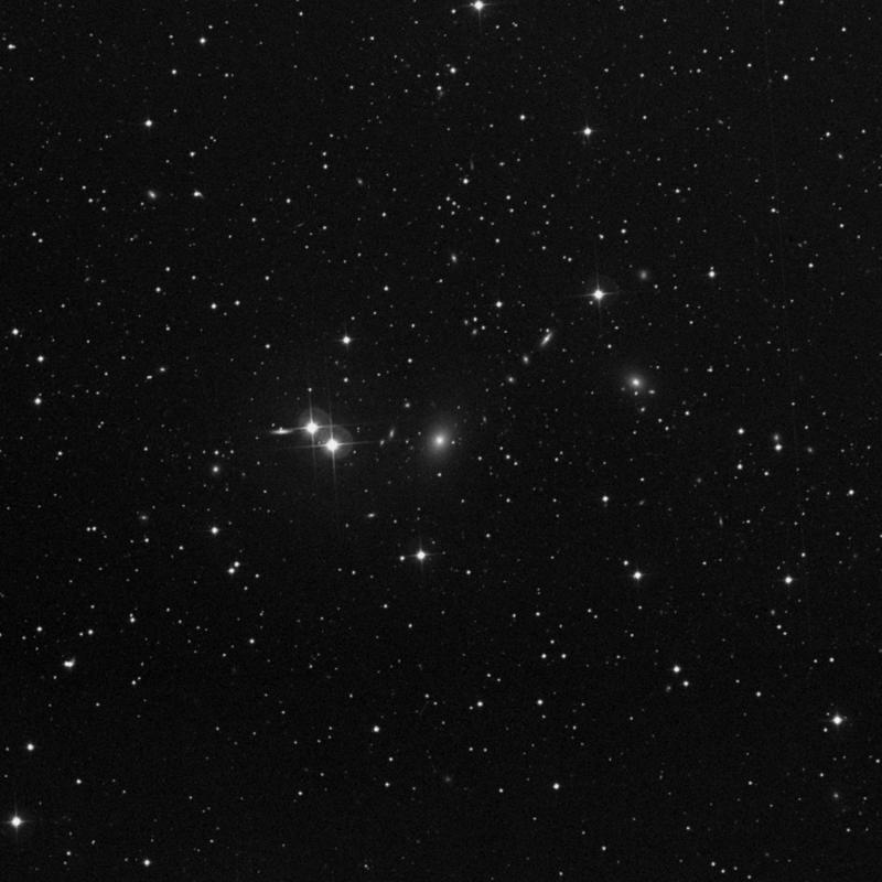 Image of NGC 6521 - Elliptical Galaxy in Draco star
