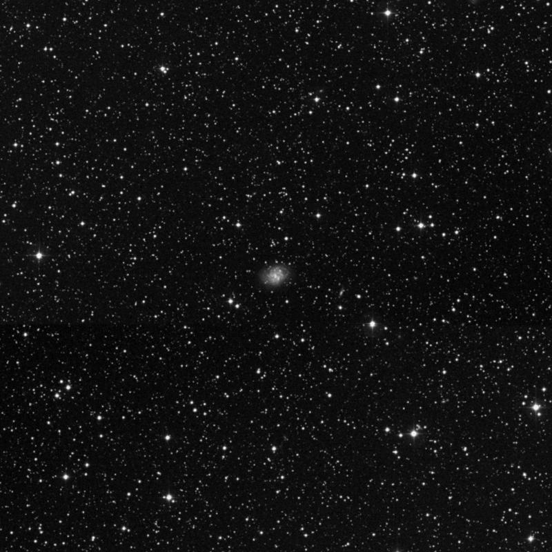 Image of NGC 6555 - Intermediate Spiral Galaxy star