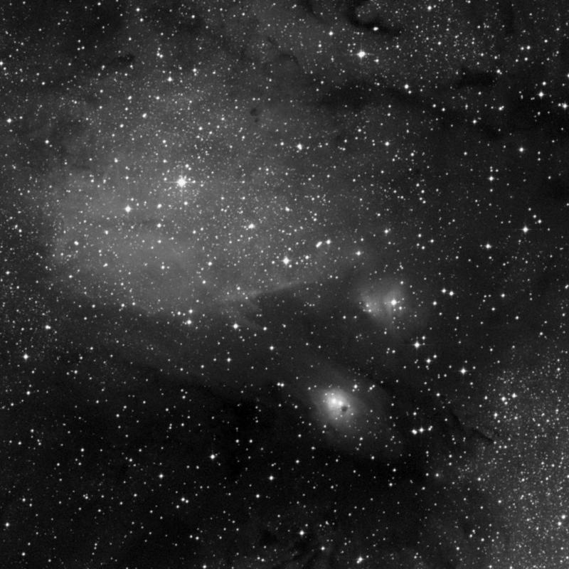Image of IC 1283 - HII Ionized region star