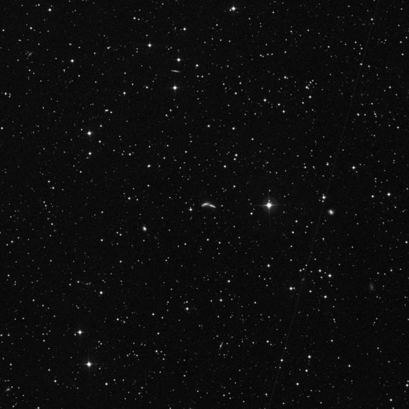 Image of NGC 6670A - Galaxy in Draco star