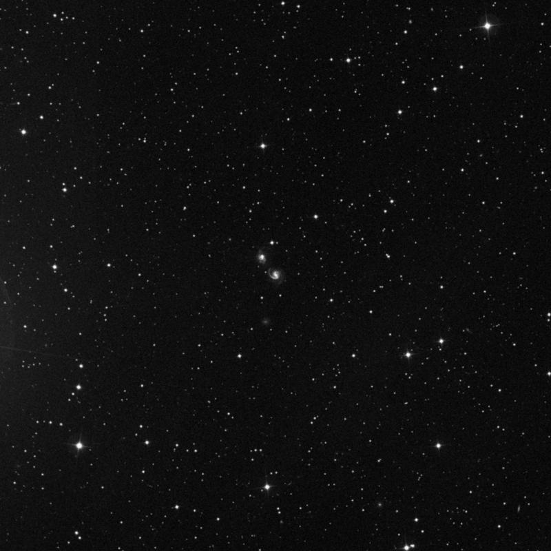 Image of NGC 6786 - Intermediate Spiral Galaxy in Draco star