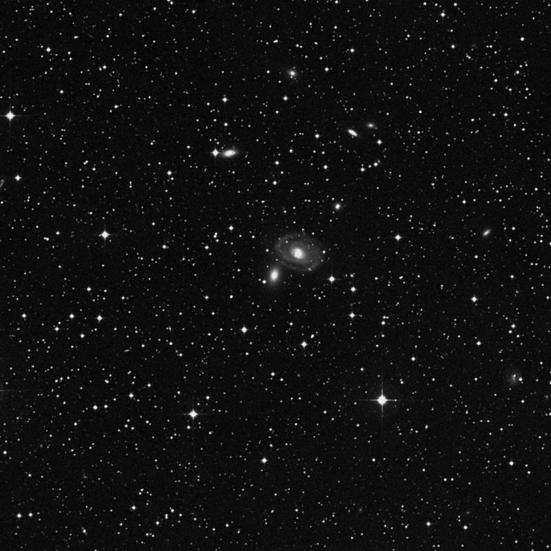 Image of NGC 6964 - Elliptical Galaxy in Aquarius star