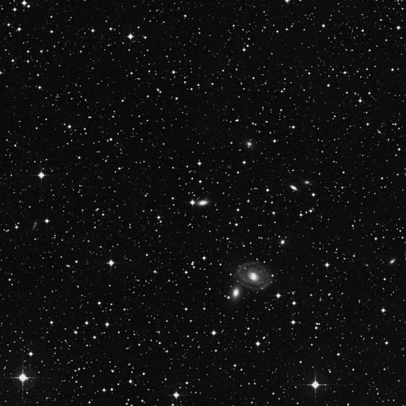 Image of NGC 6967 - Lenticular Galaxy in Aquarius star