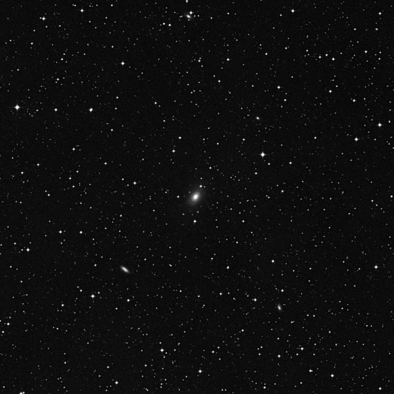 Image of NGC 6968 - Elliptical/Spiral Galaxy in Aquarius star