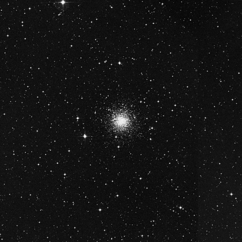 Image of Messier 72 - Globular Cluster in Aquarius star