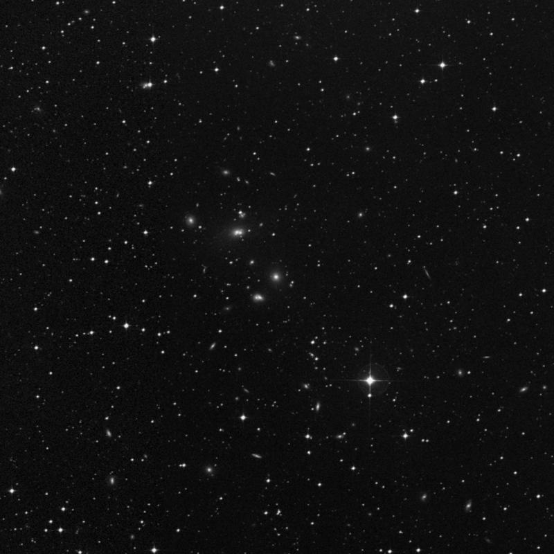 Image of NGC 7016 - Elliptical Galaxy in Capricornus star