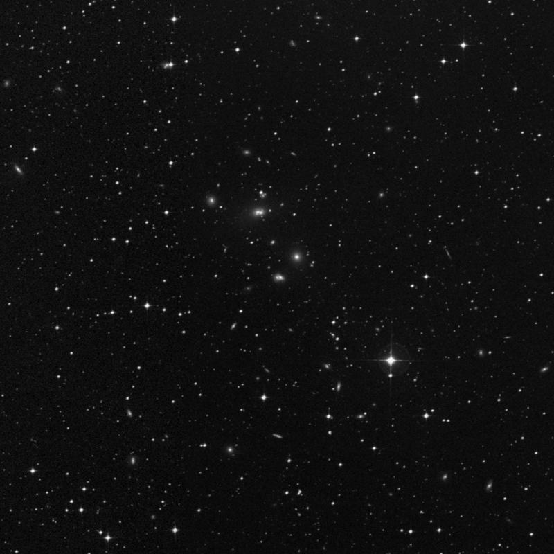 Image of NGC 7017 - Galaxy Pair in Capricornus star
