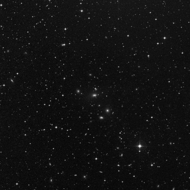 Image of NGC 7018 - Galaxy Triplet in Capricornus star
