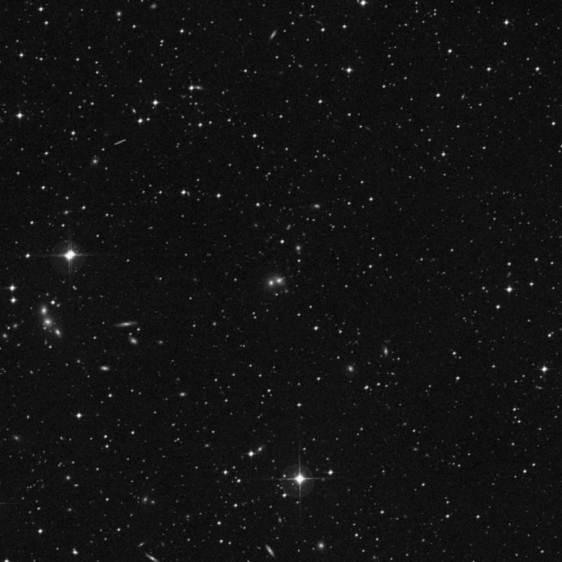 Image of NGC 7035A - Lenticular Galaxy in Capricornus star