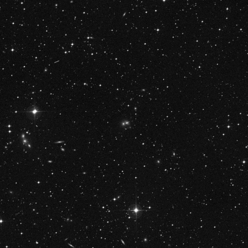 Image of NGC 7035B - Lenticular Galaxy in Capricornus star