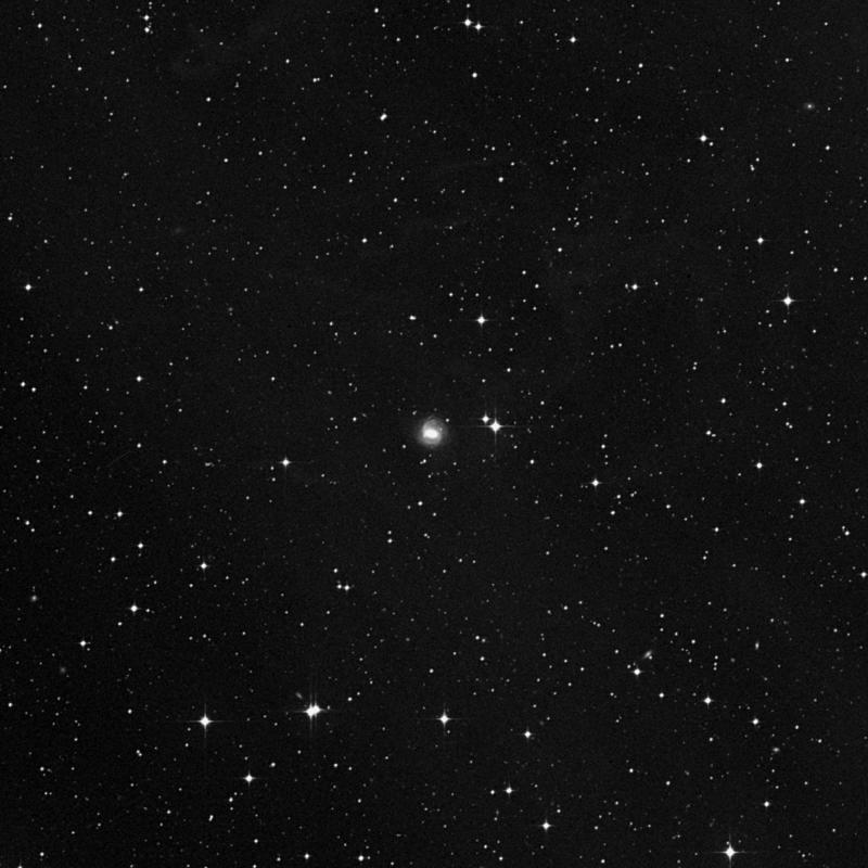 Image of NGC 7051 - Spiral Galaxy in Aquarius star