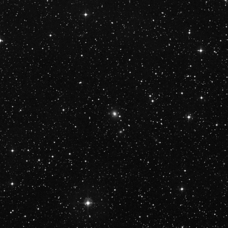 Image of NGC 7053 - Lenticular Galaxy in Pegasus star