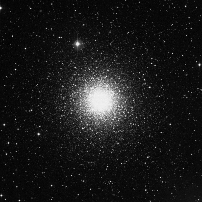Image of Messier 15 (Great Pegasus Cluster) - Globular Cluster in Pegasus star