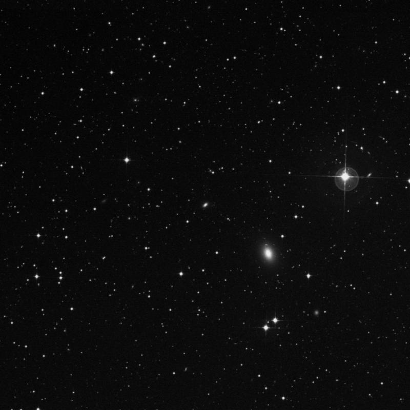 Image of NGC 7097A - Elliptical Galaxy in Grus star
