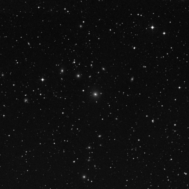 Image of NGC 7103 - Elliptical Galaxy in Capricornus star