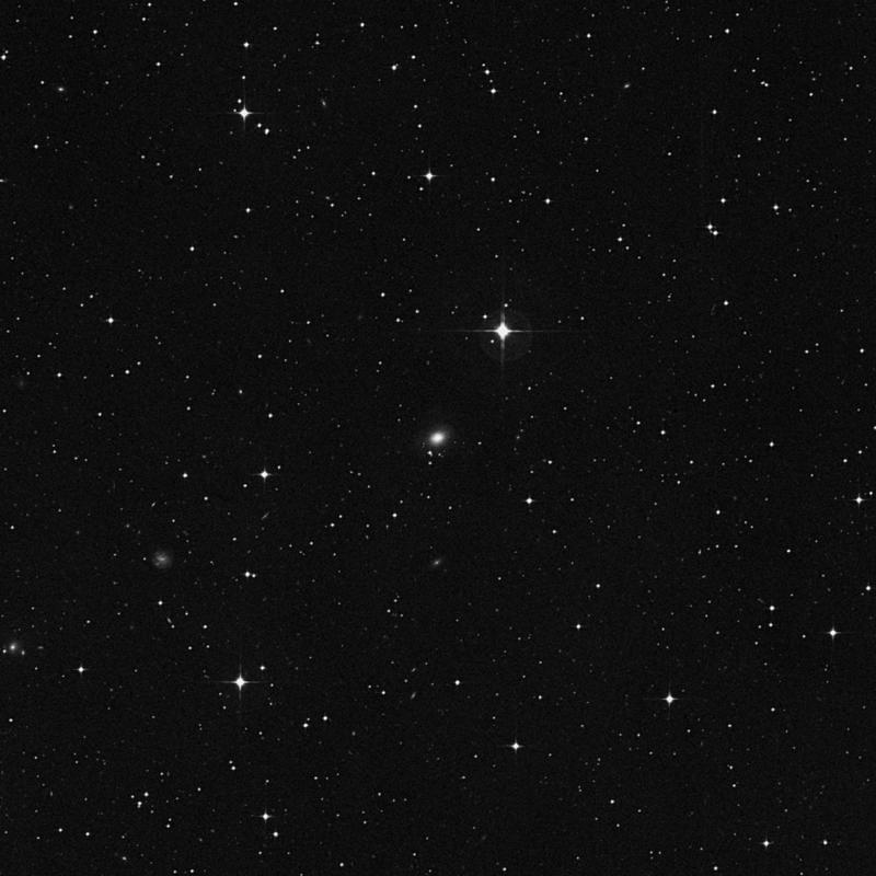 Image of NGC 7131 - Lenticular Galaxy in Capricornus star