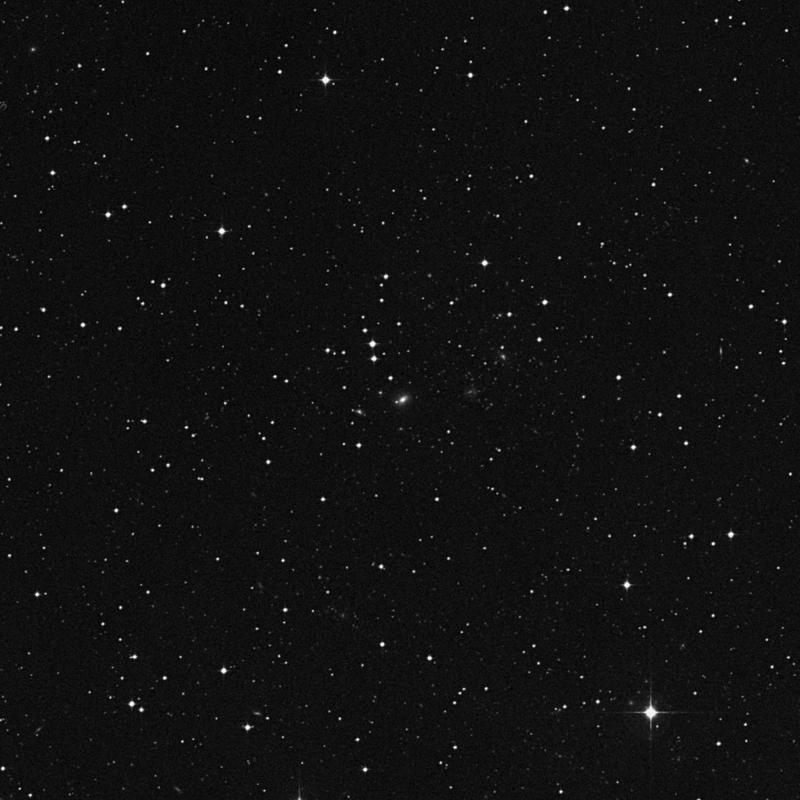 Image of NGC 7164 - Lenticular Galaxy in Aquarius star