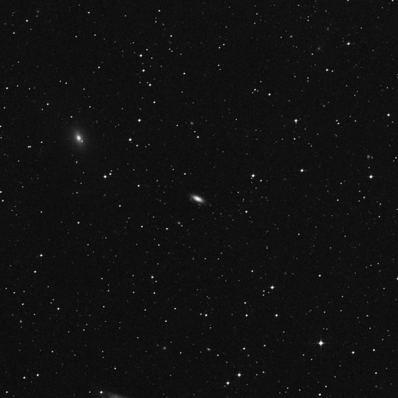 Image of NGC 7180 - Elliptical/Spiral Galaxy in Aquarius star