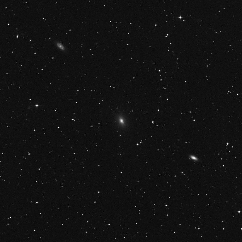 Image of NGC 7185 - Elliptical/Spiral Galaxy in Aquarius star