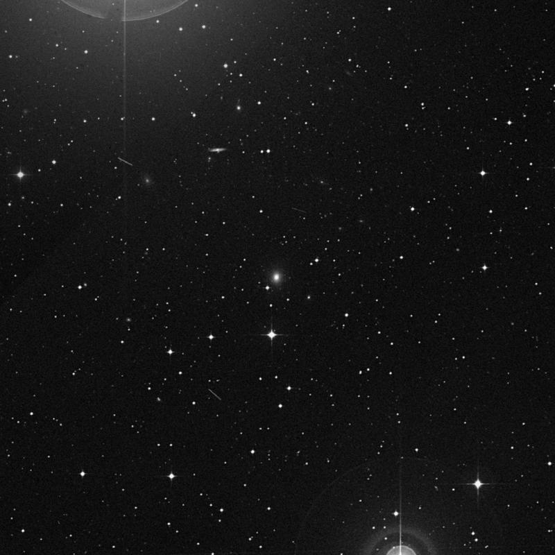 Image of NGC 7198 - Lenticular Galaxy in Aquarius star
