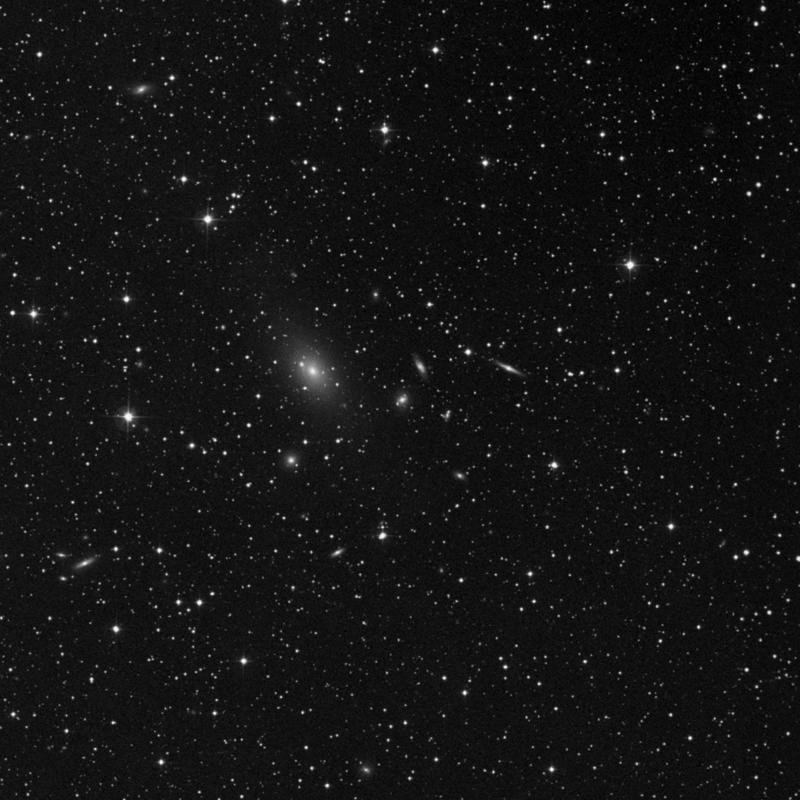 Image of NGC 7240 - Elliptical/Spiral Galaxy in Lacerta star
