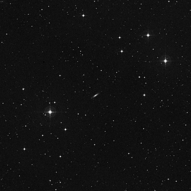 Image of NGC 7255 - Spiral Galaxy in Aquarius star
