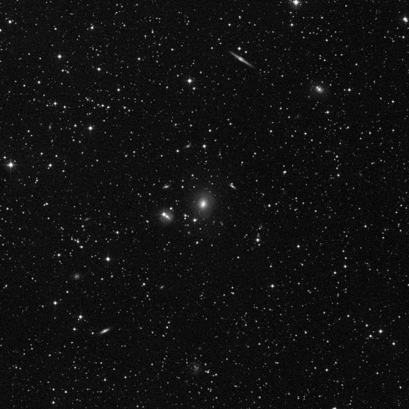 Image of NGC 7265 - Elliptical/Spiral Galaxy in Lacerta star